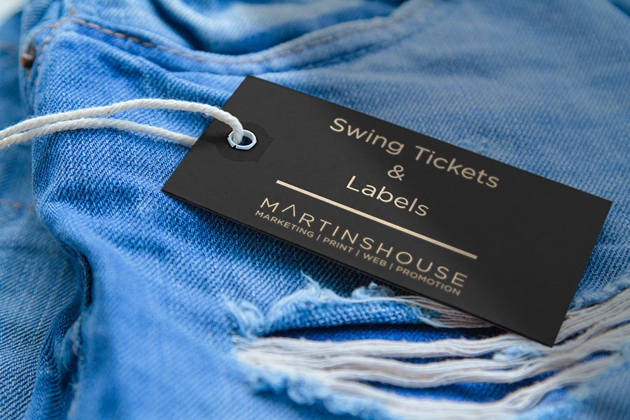 Swing Tickets Amp Labels Martinshouse Design Amp Marketing
