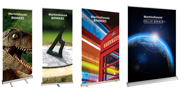 martinshouse roller banners | Scottish Borders - Banners & Signs