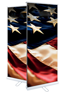 Double Sided Indoor Roller Banner