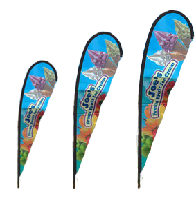 outdoor advertisng flag teardrop - Outdoor Display Products