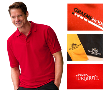 Embroidered Polo Shirts - Embroidered T-Shirts & Polo Shirts