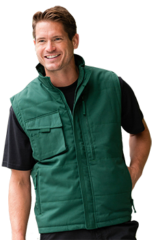 Embroidered or Printed Gilet - Workwear Range