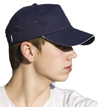 Embroidered or printed caps