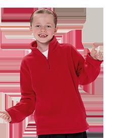 School Uniforms Quarter Zip Fleece - school uniform supplier