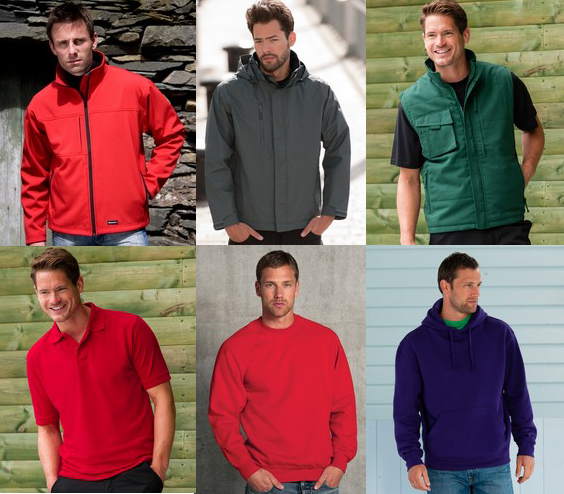 workwear - Embroidered Or Printed Clothing