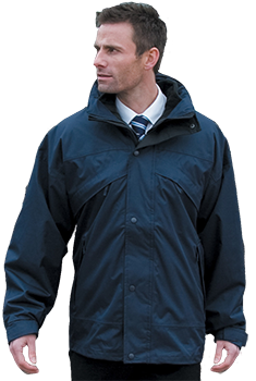 3 in 1 Jacket Embroidered - Workwear Range