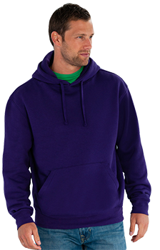 Embroidered or printed hooded sweatshirt - Workwear Range