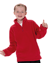 School Uniforms Quarter Zip Fleece - school uniform supplier